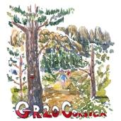 Gr. 20 Korsika - Akvarel af kendt vandresti - Akvarel af Frits Ahlefeldt